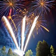 Fireworks No.2 Print by Niels Nielsen
