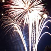 Fireworks No.3 Art Print by Niels Nielsen