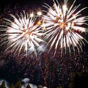 Fireworks No.5 Print by Niels Nielsen