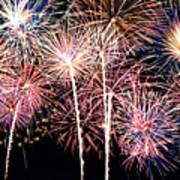 Fireworks Spectacular Print by Ricky Barnard