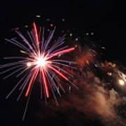 Fireworks Twenty Eleven Iv Art Print
