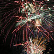Fireworks6487 Art Print