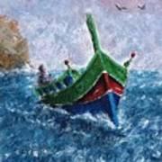 Firilla Gozitana  Art Print