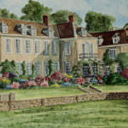 Firle Place England Art Print