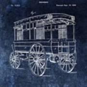 First Ambulance Patent Art Print