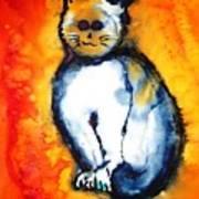 First Cat Art Print