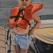 First Catch Art Print