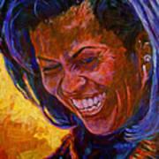 First Lady Michele Obama Art Print