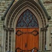 First Presbyterian Church Door Art Print