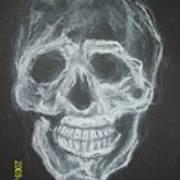 First Skull Work Art Print