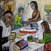 First Supper Art Print