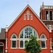 First United Methodist Church Tupelo Ms Art Print