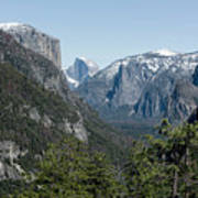 First View Of Yosemite Valley Art Print