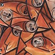Tommervik Fish and Cans Art print Art Print