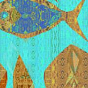 Fish And Loaves Art Print