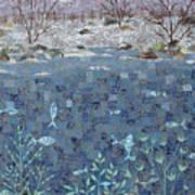 Fish And Winter Art Print