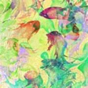 Fish Dreams Print by Rachel Christine Nowicki
