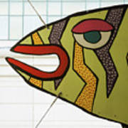 Fish Parking Art Print