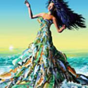 Fish Queen Art Print