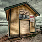 Fish Shed Art Print