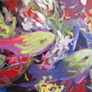 Fish Symphony  Art Print