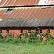 Fisher Road Barn 3 Photograph Art Print