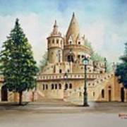 Fisherman Castle Art Print