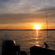 Fishermans Sunset Art Print