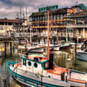Fisherman's Wharf Art Print
