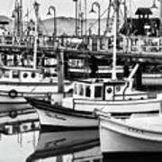 Fishermans Wharf Art Print