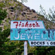 Fisher's Jewelry Art Print