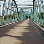 Fisheye South Washington St. Bridge Art Print