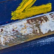 Fishing Boat Abstract Art Print