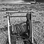 Fishing Boat Graveyard 8 Art Print