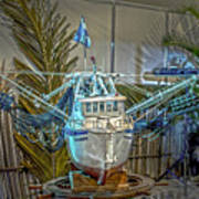 Fishing Boat Hdr 1 Art Print
