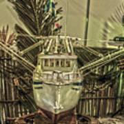 Fishing Boat Hdr 2 Art Print