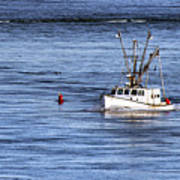 Fishing Boat Return Art Print