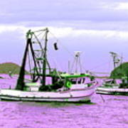 Fishing Boats At Pearl Beach 1.0 Art Print