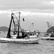 Fishing Boats At Pearl Beach 1.2 Art Print