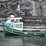 Fishing Boats Clarnlough Northern Ireland Art Print