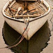 Fishing Dorry Art Print