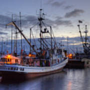 Fishing Fleet Print by Randy Hall