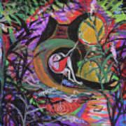 Fishing In Wonderland Art Print