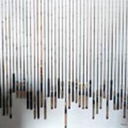 Fishing Poles Art Print