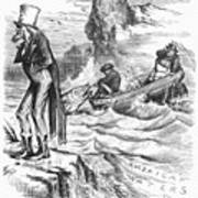 Fishing Rights, 1877 Art Print
