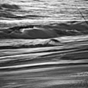 Fishing The Surf Art Print