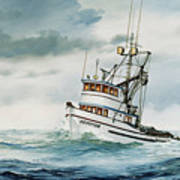 Fishing Vessel Devotion Art Print