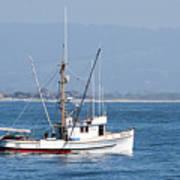 Fishing Vessel Sun Ra Art Print