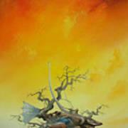 Fishtree 6. Art Print