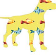 Fishy Dog Art Print